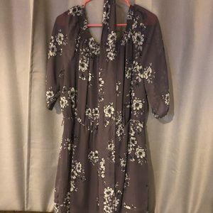 Women's mid length Plus size dress Size 1